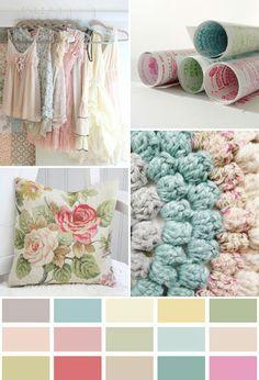 Querido Refúgio - Blog de decoração: Tons pastel na decoração vintage - retrô