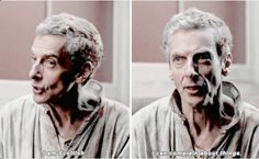 Peter Capaldi, Doctor Who . Bbc Doctor Who, 12th Doctor, Twelfth Doctor, Scottish Accent, Donna Noble, Don't Blink, Peter Capaldi, Torchwood, Geronimo