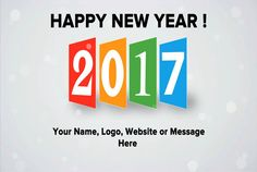 animate a New Year 2017 Greeting Ecard Video by kim_pottinger