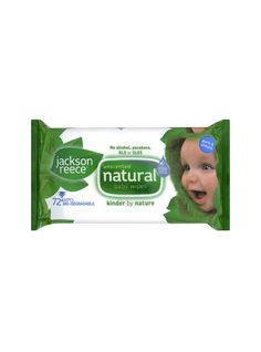 Unscented Organic Baby Wipes.  Jackson Reece  Unscented Biodegradable Baby Wipes. Each pack contains 72 wipes with a rigid label system to keep the wipes fresh. They are manufactured without alcohol, parabens, SLS or SLES. £3.29