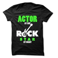 Actor Rock Rock Time T Shirts, Hoodies. Get it here ==► https://www.sunfrog.com/LifeStyle/Actor-Rock-Rock-Time-99-Cool-Job-Shirt-.html?41382