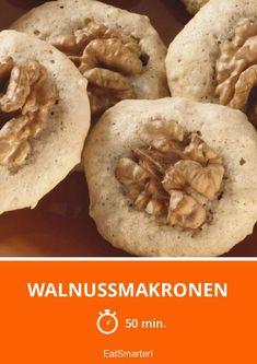 Walnussmakronen - smarter - Zeit: 50 Min. | eatsmarter.de