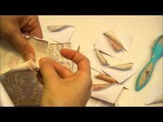 Rolled Back Paper Tutorial