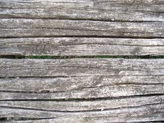 old strips of wood
