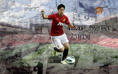 Shinji Kagawa Manchester United 2012-2013 Wallpapers HD