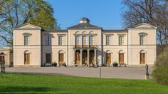 The Royal Residences. Rosendal Palace: is located at the Djurgården hunting park and was built in the 1820s for King Karl XIV Johan, the first Bernadotte