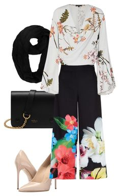 """""""cullots blouse for hijab styles"""" by wilypr on Polyvore featuring Mulberry, Massimo Matteo and Ted Baker"""