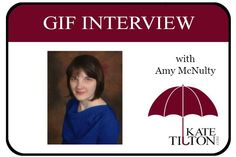 There is always time for another great gif interview! Melissa Robles interviews author Amy McNulty in the latest gif interview.