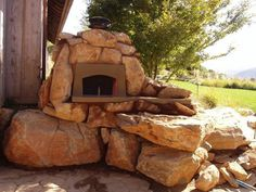 Garden or Backyard Stone and Brick Oven Solutions - there is a solution for everyone, big or small, wood fired and rocket stove powered.
