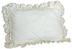 American Curtain and Home Deanna 20-Inch by 26-Inch Pillow Sham, Standard, White American Curtain and Home http://www.amazon.com/dp/B00BB7Q3WA/ref=cm_sw_r_pi_dp_x8Tdvb1KMPXWH