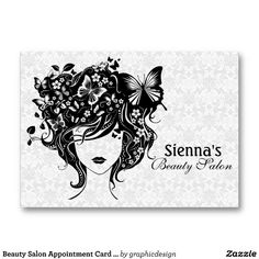 Sold #salon #appointment card to Canada