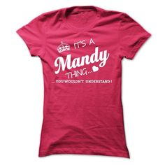 Its A Mandy Thing - #gift wrapping #gift exchange. OBTAIN LOWEST PRICE => https://www.sunfrog.com/Names/Its-A-Mandy-Thing-taife-Ladies.html?68278