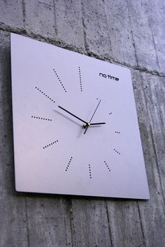 New Clock Design by Dana and Vlad Bostina from arhiDOT | http://www.designrulz.com/product-design/2012/11/new-clock-design-by-dana-and-vlad-bostina-from-arhidot/