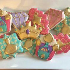 Biscotti Jasmine o Shimmer and Shine Aladdin Birthday Party, Aladdin Party, 5th Birthday Party Ideas, 10th Birthday Parties, 4th Birthday, Arabian Party, Arabian Nights Party, Princess Jasmine Party, Princess Disney