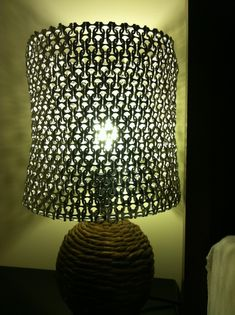 Pull tab lamp shade!