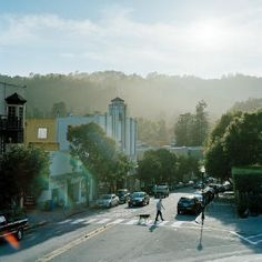 Nice view of downtown Mill Valley California   #livinginmillvalley #millvalleycalifornia