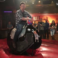 SPN Tape Ball and Jensen...riding Larry 12x11 Regarding Dean