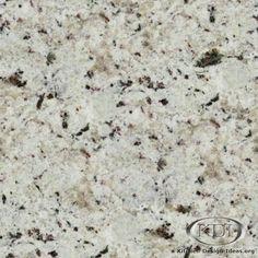 Moon White Granite  (Kitchen-Design-Ideas.org)