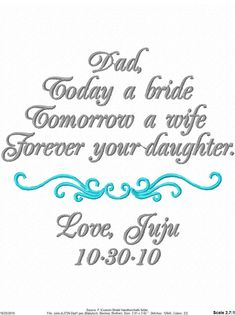 Father Of The Bride Gift Love This Maybe Add To Remember Day