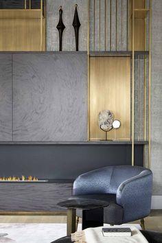 Restaurant Interior Design, Interior Design Studio, Best Living Room Design, Living Room Designs, Tv Wall Cabinets, Luxury Living, Retro, Contemporary, Modern