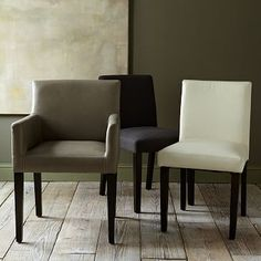 Porter Leather Armchair #westelm - lobby / waiting chair in leather