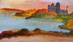 ©The Castle painted by Iris Sun  www.irisunart.com