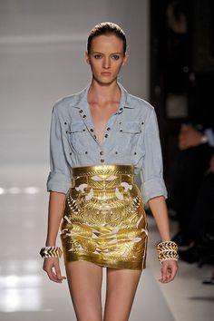 inspo: chambray & gold