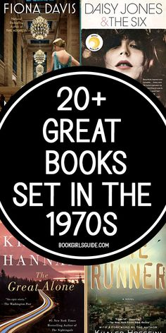 Looking for a good book set in the 1970s? We've got a list of great 70s novels perfect for a reading challenge. How many of them have you read? Book Club Suggestions, Best Fiction Books, Reading Tracker, Reading Challenge, Book Girl, Any Book, Bibliophile, Great Books, Book Lists