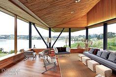 Interior Design Magazine: Chile's Hotel Refugia designed by Mobil Arquitectos; Ignacio Irarrázaval |#InteriorDesign #Chile #hotel #panorama #view #architecture #design