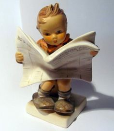 "Hummel figurine - ""Latest News"" HUM 184"