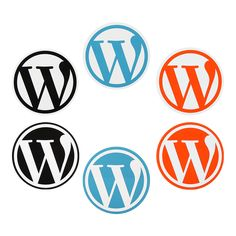 WordPress Round Stickers