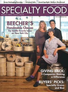 Our November/December issue of our Specialty Food Magazine has been up and ready online for you! This edition includes plenty of those companies giving back, #green packaging, and of course, #CHEESE!