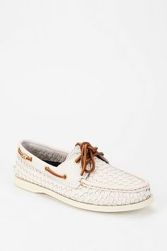 Sperry Top-Sider Woven Boat Shoe