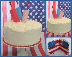 #Firecracker #Flag #Cake