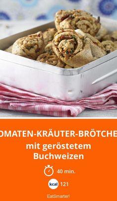 Tomaten-Kräuter-Brötchen