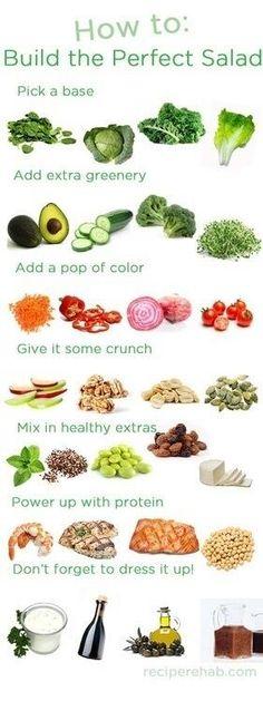 Build salad
