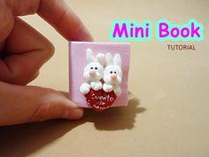 Tutorial Mini libro Cuento de amor _ Little Books Tutorial - YouTube
