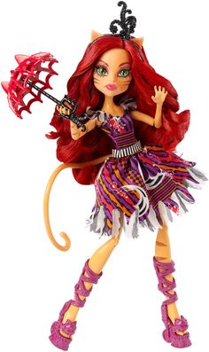 Amazon.com: Monster High Freak du Chic Toralei Doll: Toys & Games