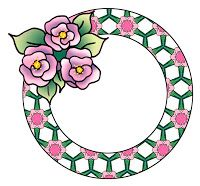 A collection of round frames with three little roses. Frames have a repeat pattern or marble pattern background with roses in matching colo. Scrapbook Frames, Three Little, Marble Pattern, Repeating Patterns, Background Patterns, Scrapbooks, Roses, Paper Crafts, Prints