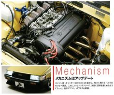 Pic of the day - Page 133 Corolla Ae86, Toyota Corolla, Car Engine, Jdm Cars, Retro Cars, Toys For Boys, Custom Cars, Mazda, Cars And Motorcycles