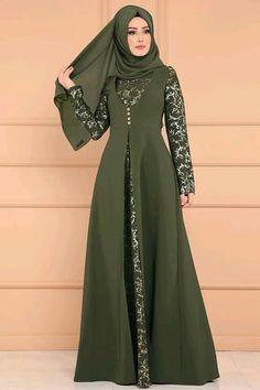 "bestsellers shop - Buy ""Abaya Dubai Turkish Hijab Muslim Dress Caftan Marocain Kaftan Abayas For Women Islam Clothing Tesettur Elbise Robe Musulmane"" for only USD. Iranian Women Fashion, Islamic Fashion, Muslim Fashion, Batik Fashion, Abaya Fashion, Fashion Dresses, Abaya Mode, Mode Hijab, Abaya Designs"