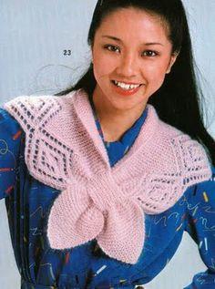 Agulhas Coloridas Croche e Trico: Golinha de trico