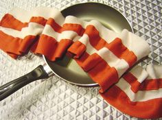 Fleece bacon scarf. Love. Will make this some day.