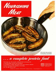 Nourishing Meat...a complete protein food. American Meat Institute