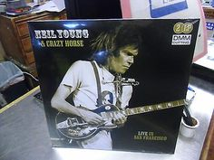 Neil Young Live In San Francisco LP NEW direct metal master Crazy Horse Rare Vinyl Records, Living In San Francisco, Neil Young, Crazy Horse, Hard To Find, Lp, Metal, Music, Musica