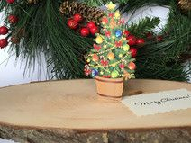 3D Christmas Tree Paper Gift
