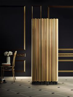 Gold and interior design: A timeless statement. | Design Build Ideas