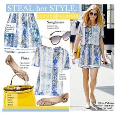 Steal Her Style-Olivia Palermo by kusja on Polyvore featuring moda, Fabio Rusconi, Fendi, Tularosa, Stealherstyle, OliviaPalermo and celebstyle
