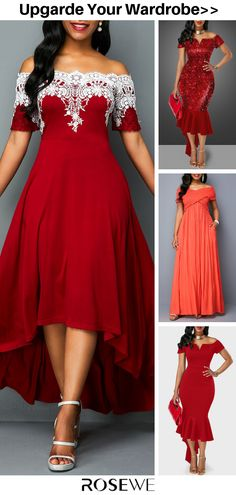 Cute Prom Dresses, Pretty Dresses, Beautiful Dresses, Summer Dresses, Dress Red, Boho Dress, African Dresses For Kids, Dinner Gowns, Plus Size Gowns