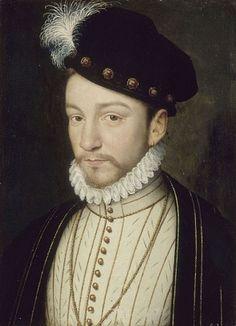 Charles IX of France, 1571 (François Clouet) (1510-1572)   Location TBD